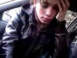 Slut suck in the car
