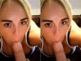 Ex Girlfriend POV Blowjob Selfie