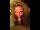 Fiona loves sucking my cock and I shoot my load all over her pretty face