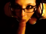 Homemade amateur blowjob & cum swallow