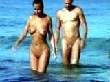 Spy Camera Films Nudists Fucking at Beach