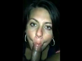 Fucking my pussy with my dildo and then sucked his dick