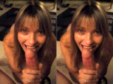 Hot Wife Lisa Blowjob & Facial Compilation