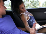 Foreplay in the car led to awesome sex in the bedroom