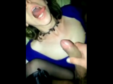 Sexy mature bitch fucked & facialized