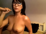 Asian Teen Eats White BF's Meat