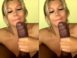Mamacita slapping her face with my BBC