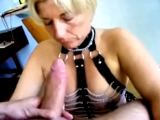 Mature deepthroat and rim job
